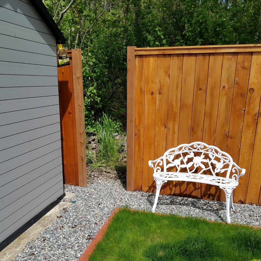 Cedar Fence, Wood Fence, Installation, Privacy Fence in Lynden, WA; Bellingham, WA, Ferndale, WA