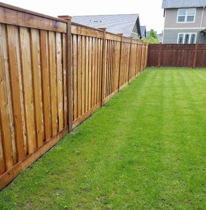 Vinyl and Cedar Fence Installation in Lynden, Wa
