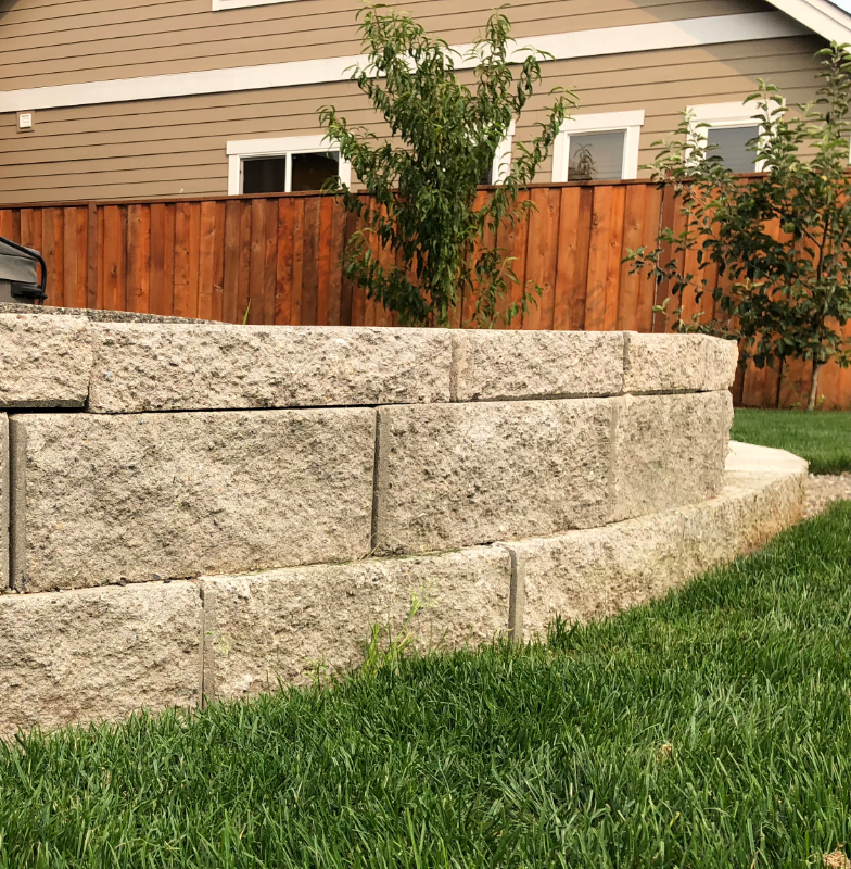 Clean Cut Installs Retaining Walls in Lynden, WA